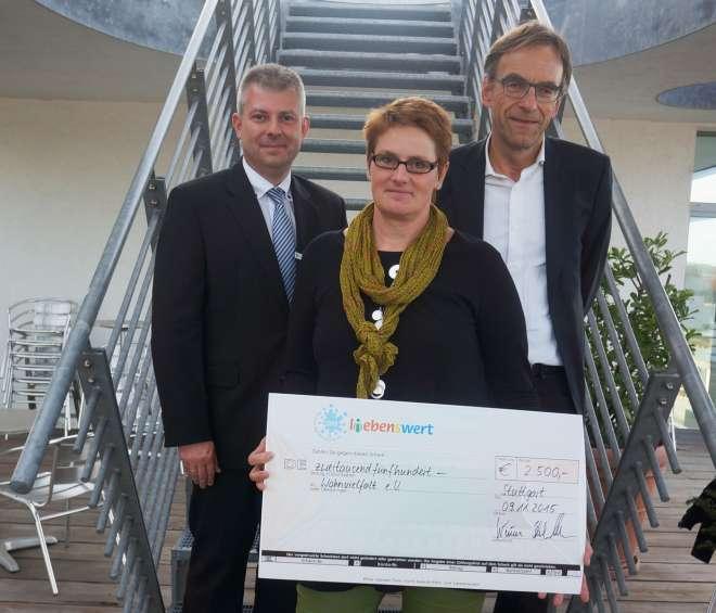 Stiftung PSD L(i)ebensWert fördert Wohnvielfalt e.V.