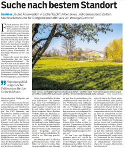 Zeitungsartikel Eschenbach